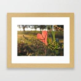 Heart (*Koinonia*) Framed Art Print