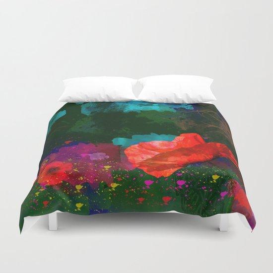 Poppies Summer Duvet Cover