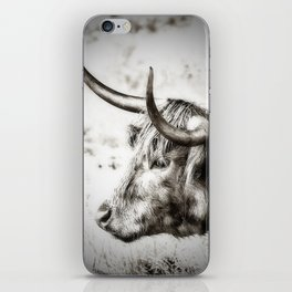 Longhorn iPhone Skin