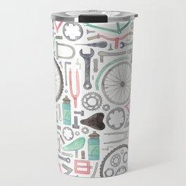 Cycling Bike Parts Travel Mug