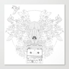 Fast-F  Canvas Print