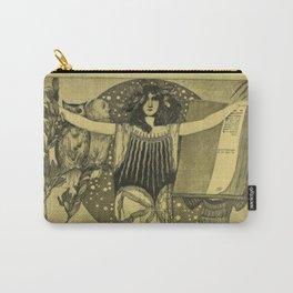 Art Nouveau Witch Carry-All Pouch