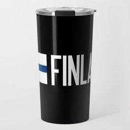 Finland: Finnish Flag & Finland Travel Mug