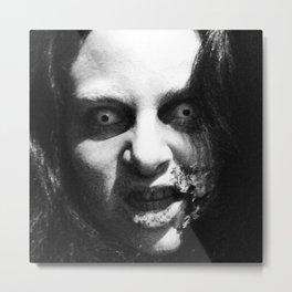 CREEPY K Metal Print