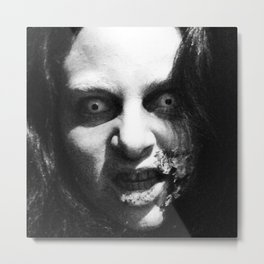 CREEPY K Metal Print