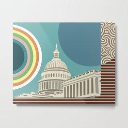 Washington Capitol Building Metal Print