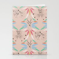 safari Stationery Cards featuring Safari by Laura Braisher