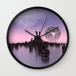 dice day today Wall Clock