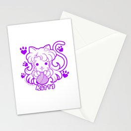 Kawaii Kiddies Cute Kitty Stationery Cards