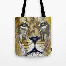 Title: Mesmerizing Lion King Tote Bag