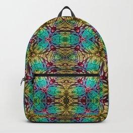 Earth Tone Snowflake Backpack