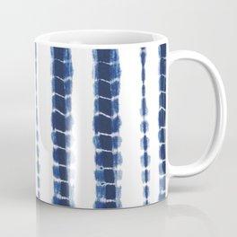 Indigo Blue Tie Dye Delight Coffee Mug