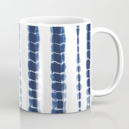 Indigo Blue Tie Dye Delight Coffee Mug