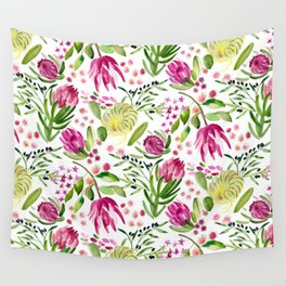 Protea Flower Bloom Wall Tapestry