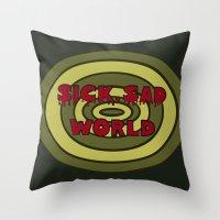 daria Throw Pillows featuring Sick Sad World Daria Documentary by Wondering Lolita by Naeema Krishna