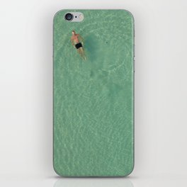 Aerial Swim iPhone Skin