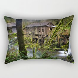 Cedar Creek Grist Mill Rectangular Pillow