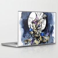 nightmare before christmas Laptop & iPad Skins featuring The nightmare before christmas by Sandra Ink