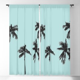 Palm trees 5 Blackout Curtain