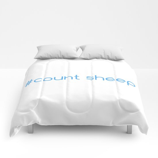 #Count Sheep Comforters