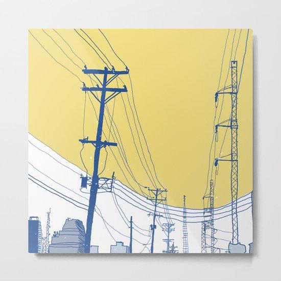 Urban Landscape no.2 Metal Print