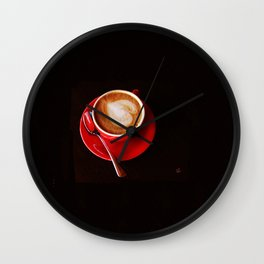Coffee for Lovers Wall Clock