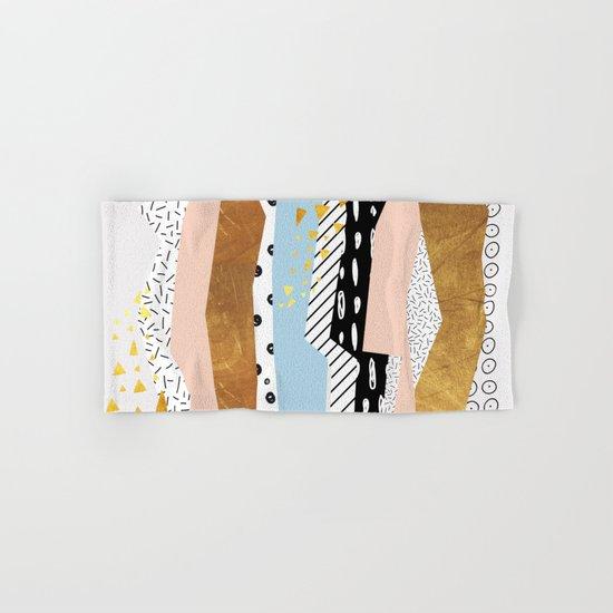Geometric shapes 01 Hand & Bath Towel