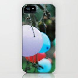 balloon tree iPhone Case