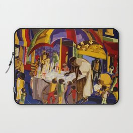 Ices by Jacob Lawrence African American Masterpiece Laptop Sleeve