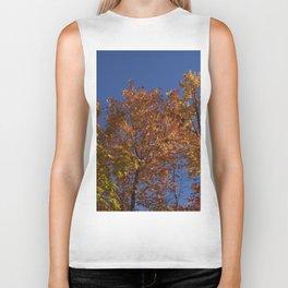 Les arbres dans le ciel Biker Tank
