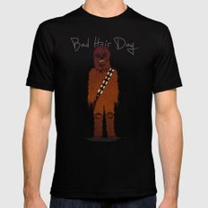 bad hair day no:3 / Chewbacca  Black SMALL Mens Fitted Tee