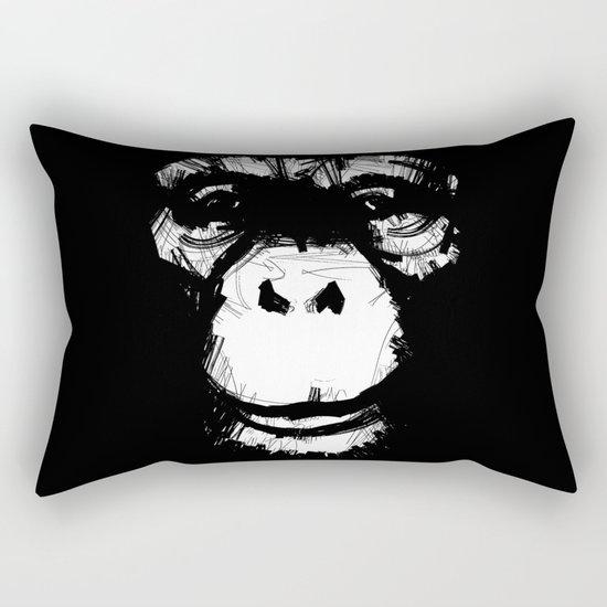 Everything's More Fun With Monkeys! Rectangular Pillow