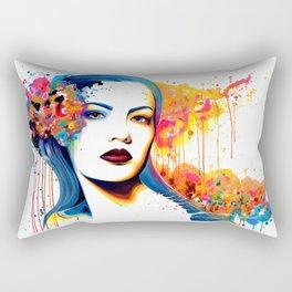 -Dead Glances- Rectangular Pillow