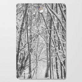 Woodland snow Cutting Board