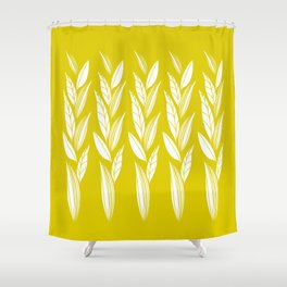 Eternity in Gold Leaf Shower Curtain