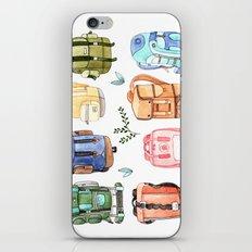 Backpacks iPhone & iPod Skin