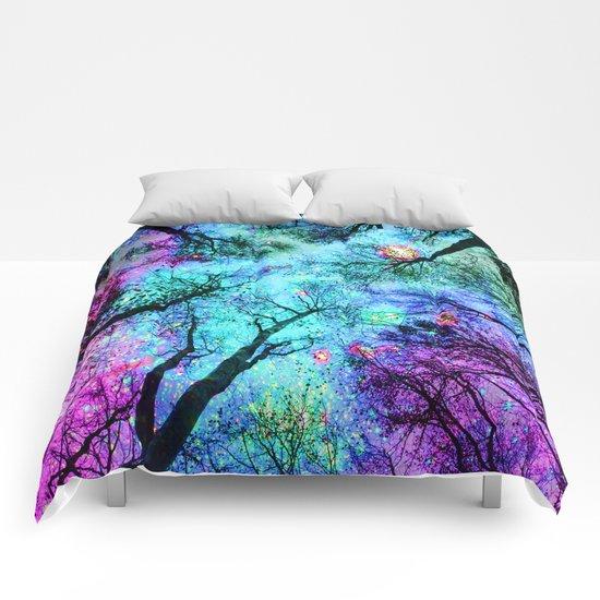 fantasy sky Comforters