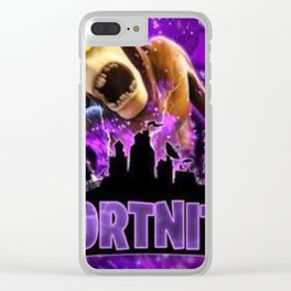 fornite Clear iPhone Case