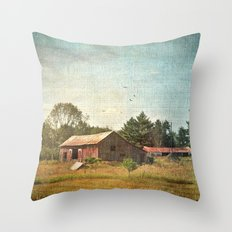 Rural Landscape #1 Throw Pillow