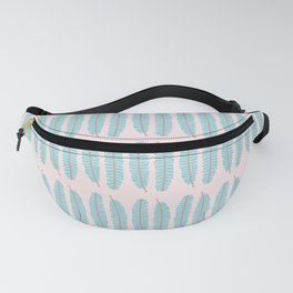 Even Pinnated Foliage Pattern Fanny Pack
