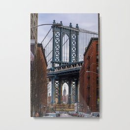 Through the arch Metal Print