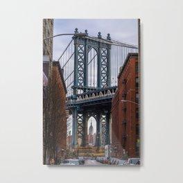 Through the arch Metal Print
