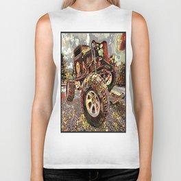 mud truck Biker Tank
