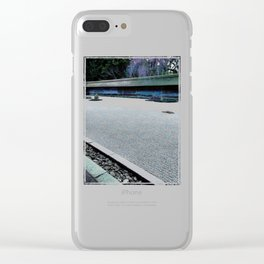 Aside from Me (Japan) Clear iPhone Case