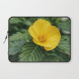 Yellow Beauty Laptop Sleeve