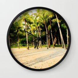 Coconut Trees Wall Clock