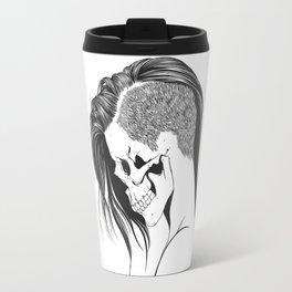 women skull  Travel Mug