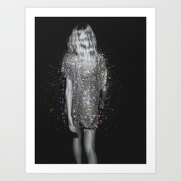 Magic girl Art Print