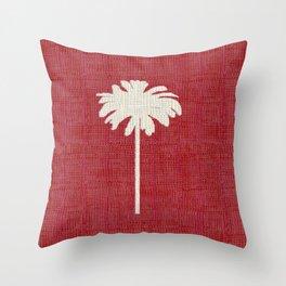 Christmas Palm 3 Throw Pillow