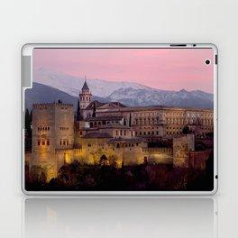 Alhambra at Sunset, Granada, Spain Laptop & iPad Skin